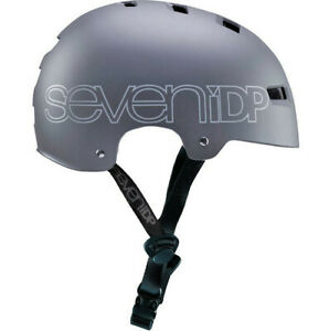 7 Protection 7iDP M3 Dirt Jump Bike Helmet MTB BMX Skatepark - Graphite