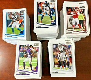 2018 Score Football Cards # 1 - 250 You Pick FREE SHIPPING