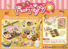 Re-Ment Dollhouse Miniature Donuts To Go! Miniature Collection Full set of 10