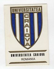 figurina PANINI FOOTBALL CLUBS NUMERO 249 UNIVERSITARIA CRAIOVA