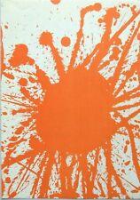 "Walasse Ting montado Ltd Litografía original, 14 X 11"" 1963 WT08R cobra interés"
