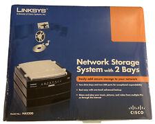 Brand New -Linksys Network Storage System w/ 2 Bays - Model No.: NAS200