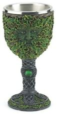 Medieval Green Man Chalice/Wine Goblet