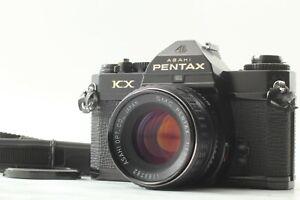 [ EXC Mètre Travail Pentax KX Noir Caméra à Film Avec / Smc 55mm f1.8 Verre