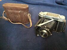Vintage Camera Folding 6x6 Franka Solida III Lens Radionar 2.9/80mm US ZONE