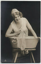Original Vintage 1920s risque washer woman