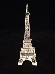 Crystal Effiel Tower (M) Figurine - Paris Souvenir