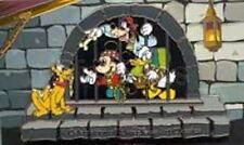 DISNEY PIN SILVER JAIL SCENE PIRATES OF THE CARIBBEAN WDCC 2000 LE MICKEY DONALD