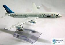 15cm 1:500 Iran Air A340 Airplane Aeroplane Diecast Metal Plane Toy Model