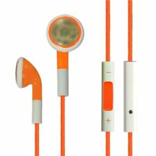 ORANG EARPHONES volume Control 3.5mm Jack FOR APPLE IPHONE IPOD ITOUCH IPAD Gene