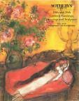 19TH AND 20TH CENTURY PAINTINGS, DRAWINGS AND SCULPTURE. Sotheby's 1995 Jewish