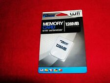 Memory Card 128MB for GameCube & Wii NEW for Nintendo System Consoles by KMD