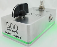 Boost Pedal Clean BOO Instruments Booster for Solos Preamp Line Driver Buffer