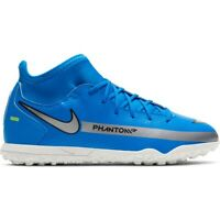 Scarpe da calcio Nike Phantom Gt Club Df Tf Jr CW6729-400 multicolore blu