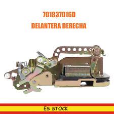 Cerradura puerta delantera derecha para volkswagen t4 transporter 701837016d