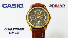VINTAGE CASIO STING STN-305 QW.716 JAPAN WR.100, MULTIFUNCION, FASE LUNAR