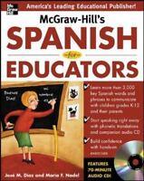 McGraw-Hill's Spanish for Educators w/Audio CD  VeryGood