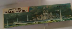 Airfix H.M.S. Hood vintage 1:600 Scale England