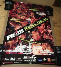 Pride Fc 32 Real Deal Poster Fedor Shogun Rua UFC Bellator Seg Japanese MMA WEC
