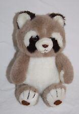 "RACCOON 8"" Plush Stuffed Animal Soft Toy Korea Antics Vtg 1982 Bellstone Trading"
