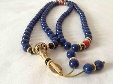 china&tibet tibetan Lapis lazuli buddhist buddha worry prayer bead mala brace