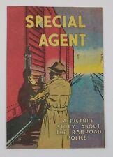 Special Agent Railroad Police Comic 1959 Assoc American Railroads Promo