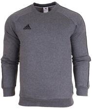 adidas Core 18 Mens Full Tracksuit Sweatshirt Top Bottoms Pants Training M Dark Grey
