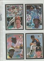 1985 Donruss Action All Stars 60-card Baseball Set  Nolan Ryan  Don Mattingly
