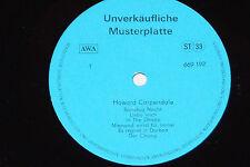 Howard Carpendale-LP pattern PIASTRA PROMO VEB Amiga AWA DDR