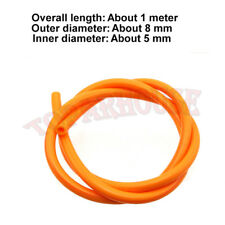5mm Orange Gas Benzinschlauch Für Pit Dirt Bike Buggy Go Kart 4 Wheeler Quad ATV