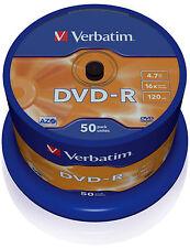 Verbatim CD, DVD and Blu-ray Discs