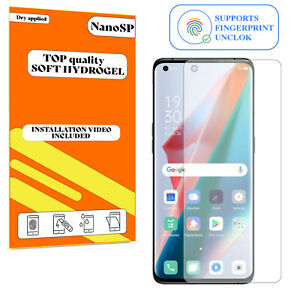 Screen Protector For Oppo Find X3 Pro Hydrogel Cover - Clear TPU FILM