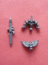 New Space Marine BLOOD ANGELS IRON HALO & CHAPTER PARTS - Bits 40K