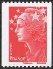 2008 FRANCE N°4240** Marianne de Beaujard Timbre de Roulette TTB MNH