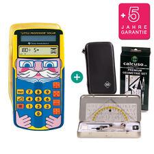 TI Little Professor Taschenrechner + Schutztasche GeometrieSet Garantie