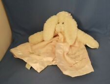 Pink Rabbit Security Blanket Bearington COllection Hush A Bye Baby