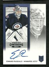 2013-14 Panini Contenders Rookie Ticket Autograph #196 EDWARD PASQUALE