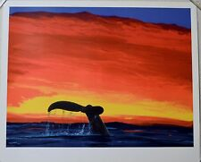 WYLAND SOUNDING SEAS LITHOGRAPH SIGNED #470/750 W/COA GLOSS FINISH-RARE