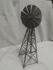 "Aero Manufacturing 12B Aero 17"" Steel Windmill - Assembled/Box salesman sample"