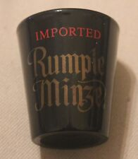 Rumple Minze, Shot Glass, Black