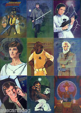 Star Wars - Finest Chrome - Complete Trading Card - Set (90) - Topps 1996 - NM