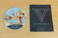 Grand Theft Auto V GTA 5 Sony PlayStation 3 PS3 Disc & Manual Only