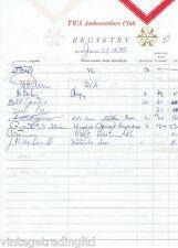STEVIE WONDER's GUITARIST BILL JONES & MUSIC DIRECTOR GENE KEE AUTOGRAPHS 1970