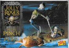 Lindberg Jolly Roger, IN THE PINCH OF PERIL, Skeleton Pirate Model 1/12 612 ST