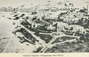 Aerial View Masonic Temples Veterans Hospital Albuquerque, NM, Vintage Postcard