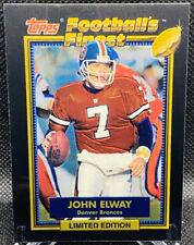 JOHN ELWAY 1992 TOPPS FOOTBALL'S FINEST #6 LIMITED EDITION HOF MINT