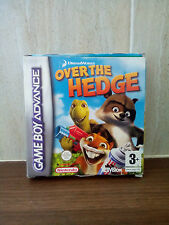 DreamWorks' Over the Hedge (Nintendo Game Boy Advance, 2006) boxed  PAL Version