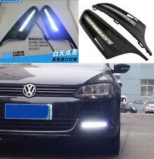 for 2011 2012 Volkswagen VW Jetta Sagitar LED DRL Daytime Running Light fog lamp