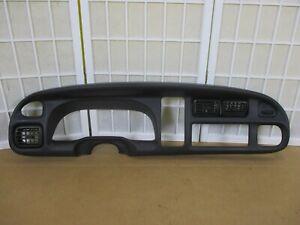 98-02 Dodge Ram Pickup Truck OEM Dash Speedometer Interior Gauge Cluster Bezel