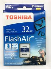 Toshiba FlashAir W-04 32GB 32G SDHC Class 10 Memory Card